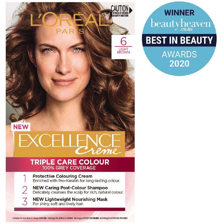 L'Oreal Paris Excellence Creme Light Brown 6, , hi-res