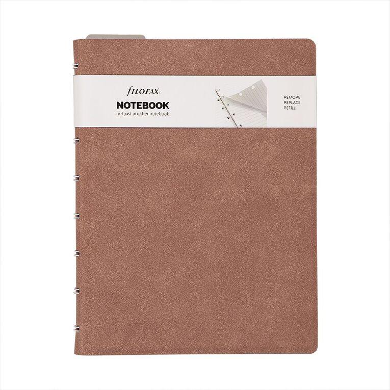Filofax Notebook Architex Terracotta A5, , hi-res