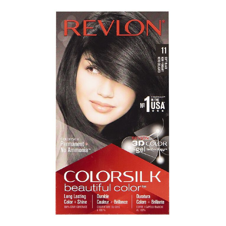 Revlon Colorsilk Soft Black 11, , hi-res
