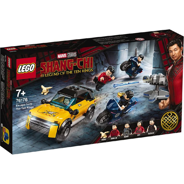 LEGO Marvel Shang-Chi Escape from The Ten Rings 76176, , hi-res