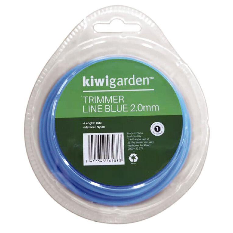 Kiwi Garden Trimmer Line Blue 2.0mm/15m, , hi-res
