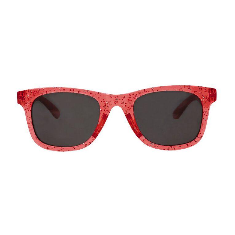 Kids Glitter Sunglasses, Pink, hi-res