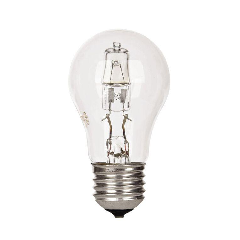 General Electric E27 Halogen Classic Light Bulb Clear 42W, , hi-res