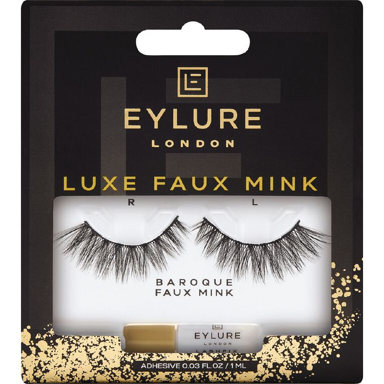 Eylure Luxe Faux Mink Baroque Lashes, , hi-res
