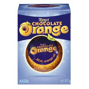 Terry's Milk Chocolate Orange Ball 157g