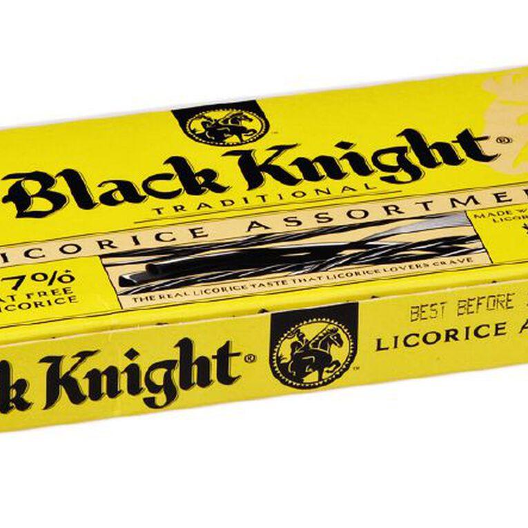 Black Knight Licorice Assortment 250g, , hi-res