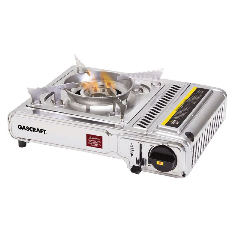 Gascraft Stainless Steel Butane Cooker, , hi-res