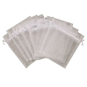 Uniti Organza Bags White