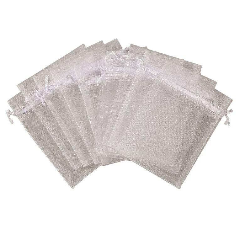 Uniti Organza Bags White, , hi-res