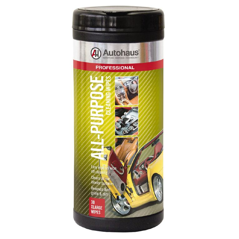 Autohaus All Purpose Cleaning Wet Wipes 30 Pack, , hi-res