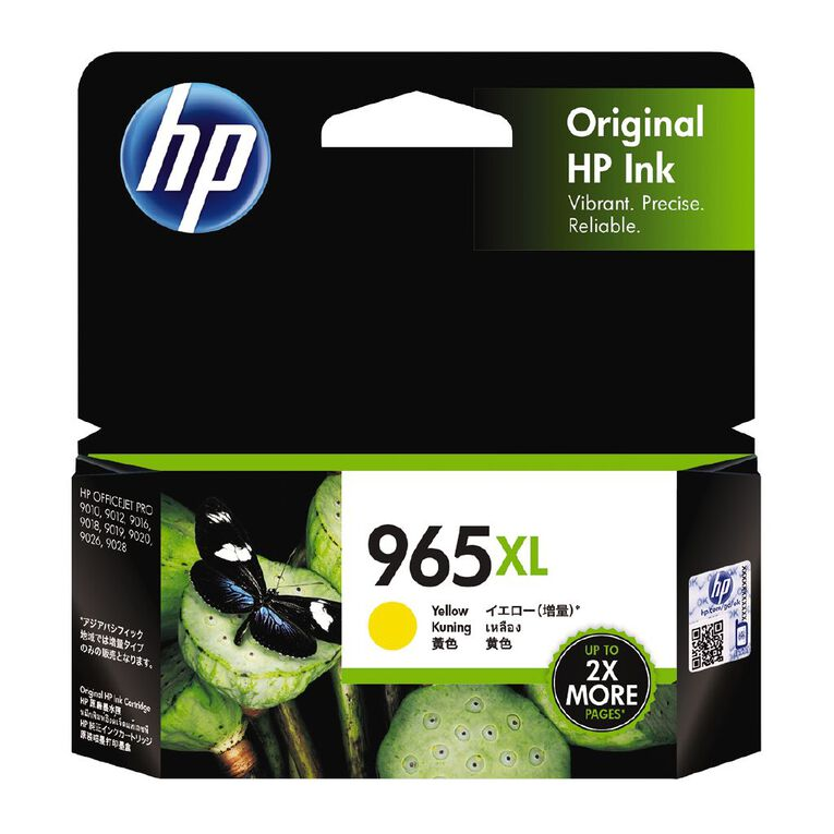 HP Ink 965XL Yellow (1600 Pages), , hi-res