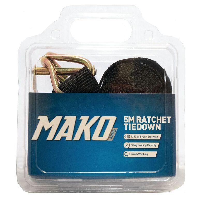 Mako Ratchet Tiedown 37mm x 5m, , hi-res