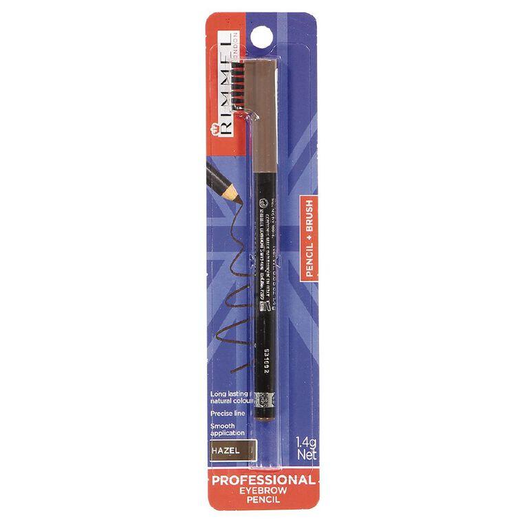 Rimmel Professional Eyebrow Pencil Hazel, , hi-res