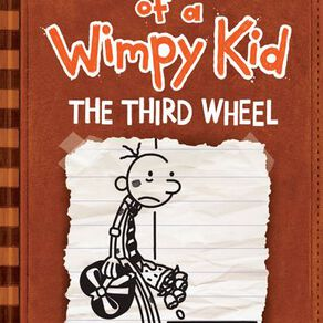 Diary of a Wimpy Kid #7 Third Wheel by Jeff Kinney N/A