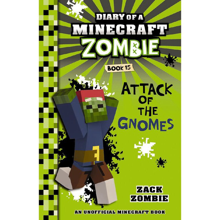Minecraft Zombie #15 Attack of the Gnomes by Zack Zombie, , hi-res