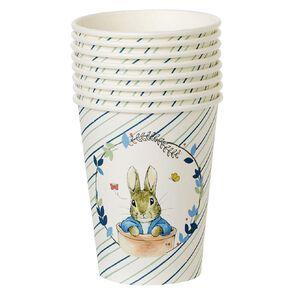 Peter Rabbit Beatrix Potter Paper Cups 250ml 8 Pack