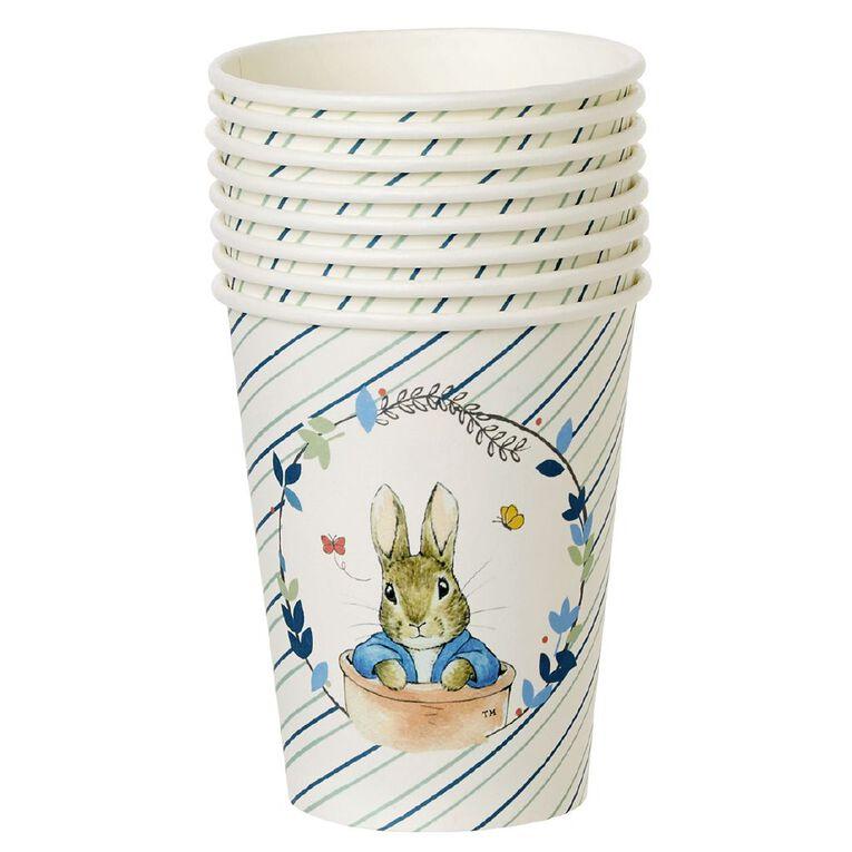 Peter Rabbit Beatrix Potter Paper Cups 250ml 8 Pack, , hi-res