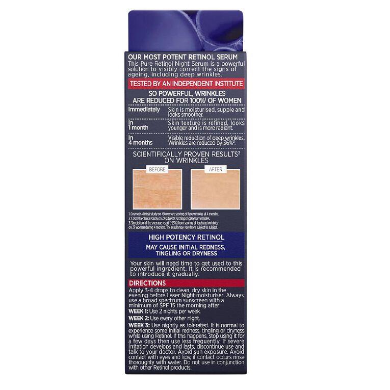L'Oreal Paris Revitalift Pure Retinol Night Serum 30ml, , hi-res