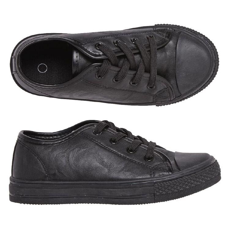 Young Original Finn Lo PU Shoes, Black, hi-res