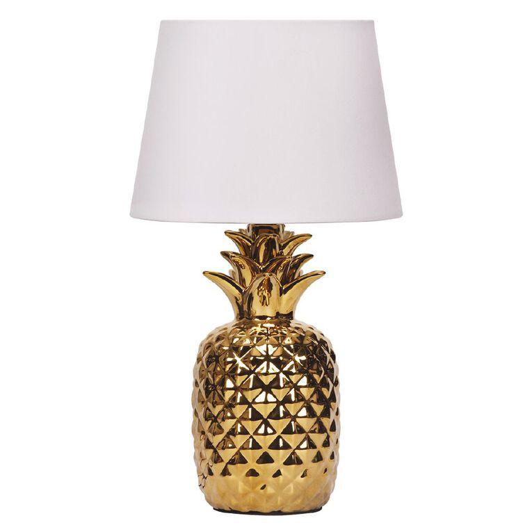Living & Co Pineapple Lamp, , hi-res