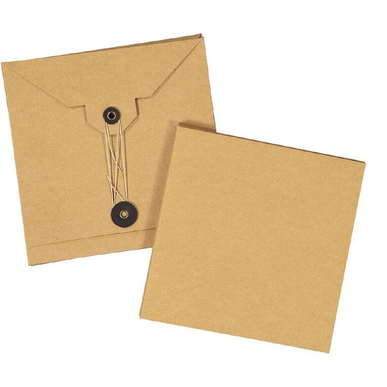 Uniti Cards & Envelopes Pocket Kraft 3 Pack, , hi-res