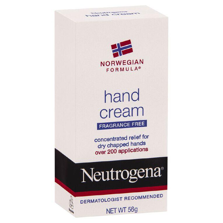 Neutrogena Norwegian Formula Hand Cream Fragrance Free 56g, , hi-res