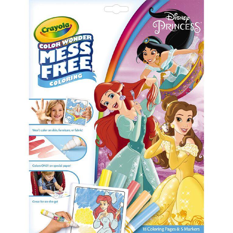 Crayola Colour Wonder Disney Princess, , hi-res
