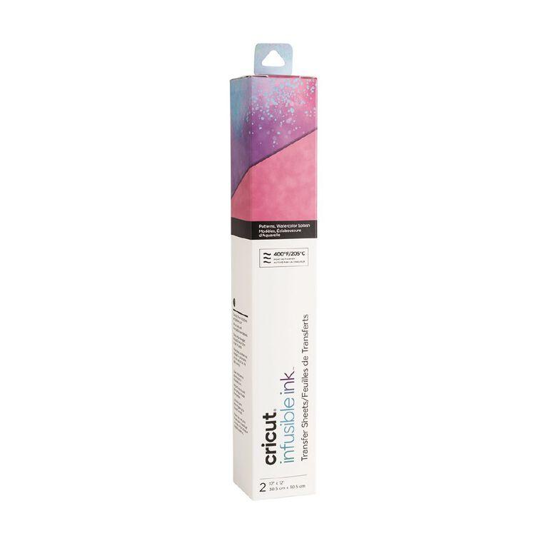Cricut Infusible Ink Watercolor Splash 12in x 12in, , hi-res