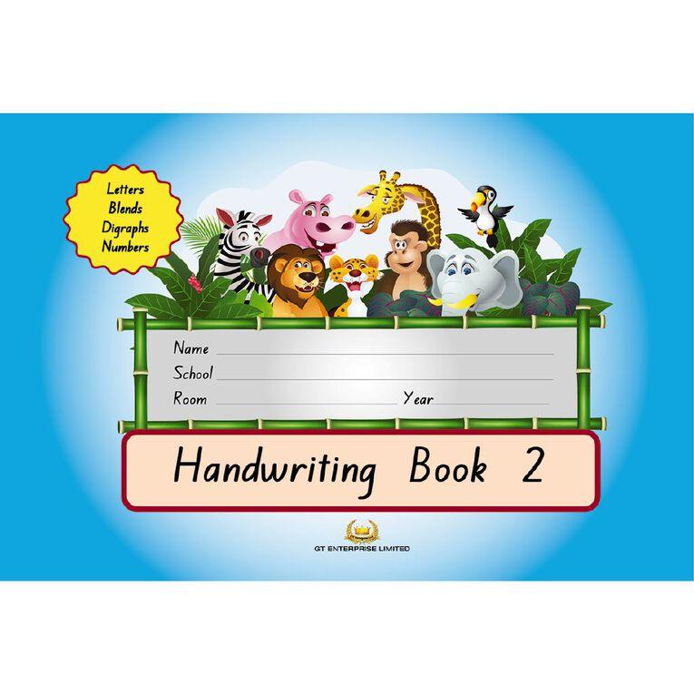 GT Handwriting Book 2 Blue, , hi-res image number null