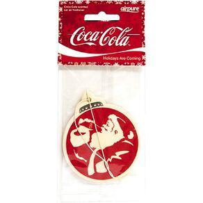 Coca Cola Single Air Freshner Christmas Original Santa