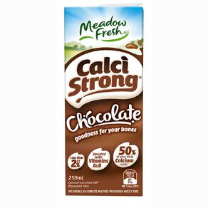 Meadow Fresh Calci Strong UHT Choc 250ml