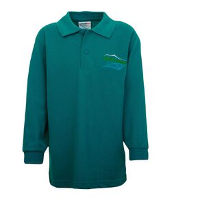 Schooltex Ashley Long Sleeve Polo with Embroidery