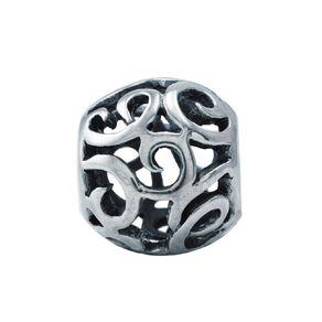 Ane Si Dora Sterling Silver Spiral Charm