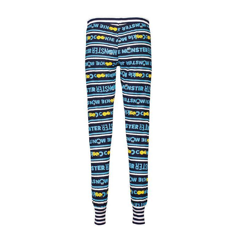 Sesame Women's Stretch Pyjama Pants, Blue, hi-res