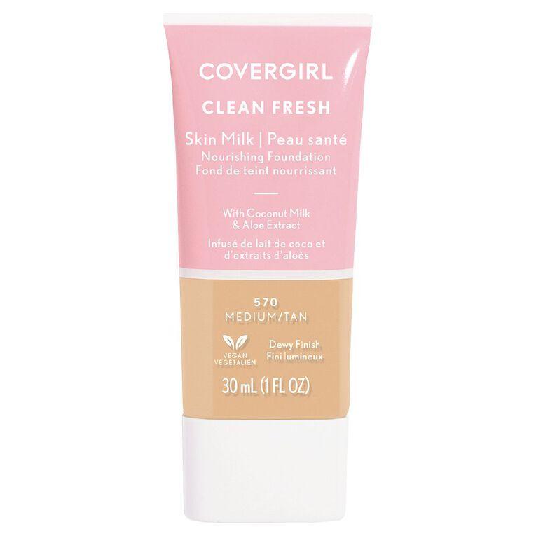 Covergirl Clean Fresh Skin Milk Medium/ Tan 570 30ml, , hi-res