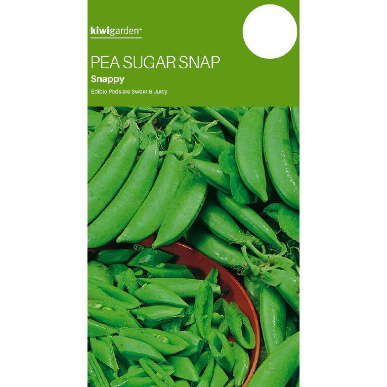 Kiwi Garden Pea Sugar Snap Snappy, , hi-res