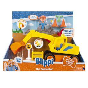 Blippi Feature Vehicle Excavator