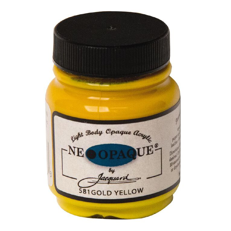 Jacquard Neopaque 66.54ml Gold Yellow, , hi-res
