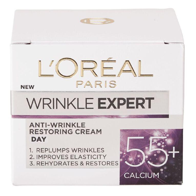 L'Oreal Paris Wrinkle Expert 55+ Day Cream 50ml, , hi-res
