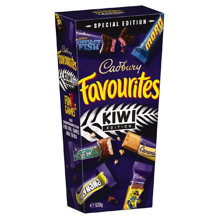 Cadbury Kiwi Favourites 530g, , hi-res