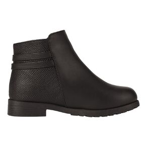Young Original Zip Flat Boots