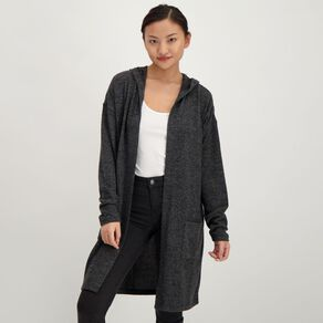 H&H Women's Brushed Knit Cardigan