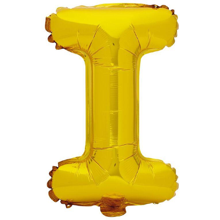 Artwrap Foil Balloon I Gold 35cm, , hi-res