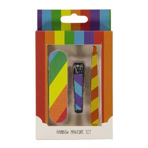 Rainbow Manicure Set
