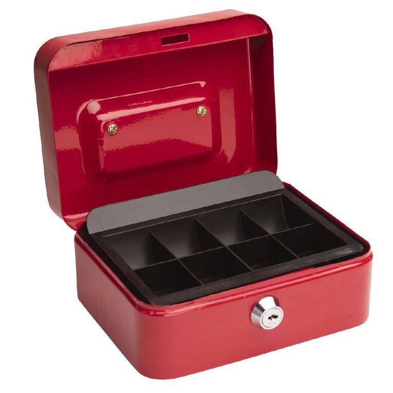 Impact Cash Box 6 inch Red, , hi-res