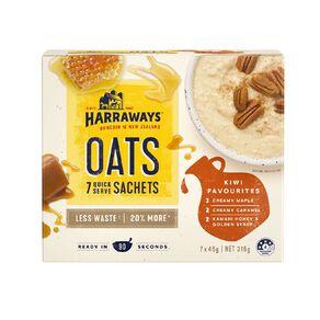 Harraways Kiwi Favourites Mixed Pack 7 Sachets 315g