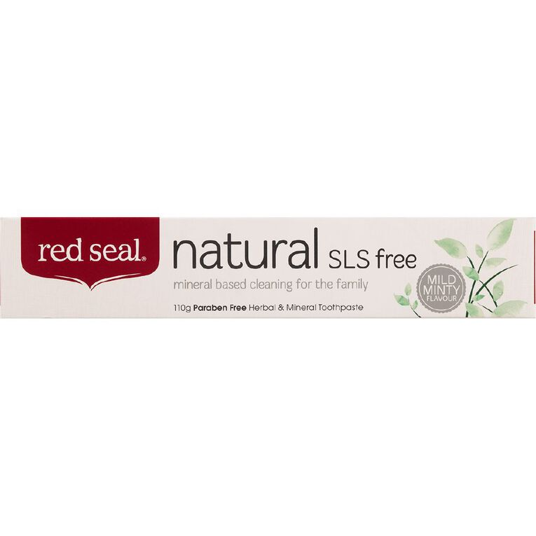 Red Seal Natural Toothpaste SLS Free 110g, , hi-res