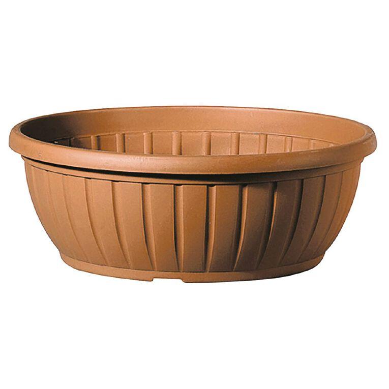 Deroma Planter Bowl Terracotta 30cm, , hi-res