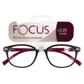 Focus Reading Glasses Elegant Power 3.25