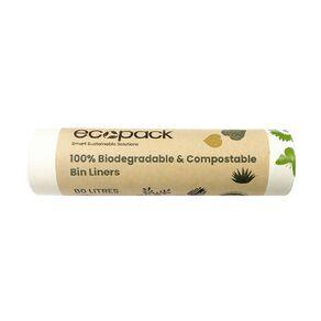 Ecopack Compostable Bin liners 80L 10pk